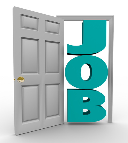 open the door to a job