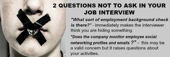 list of interview questions not to ask