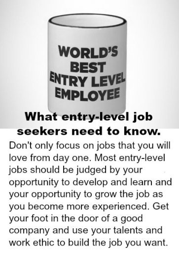 Entry Level Job Search Tips