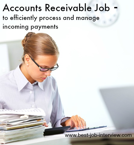Accounts receivable job