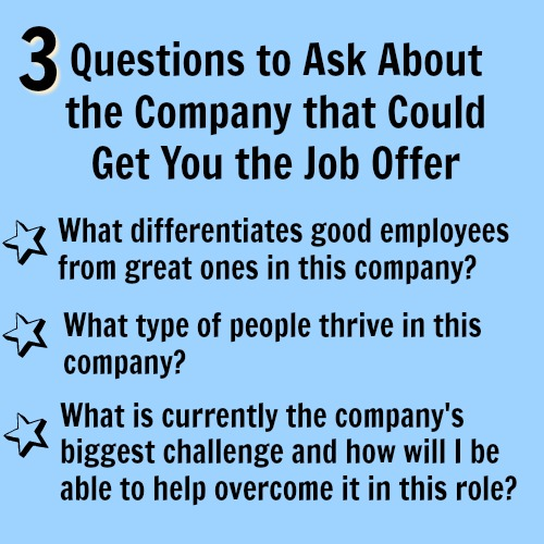 interview question to ask employer that makes a great