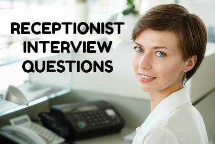 sample receptionist job description