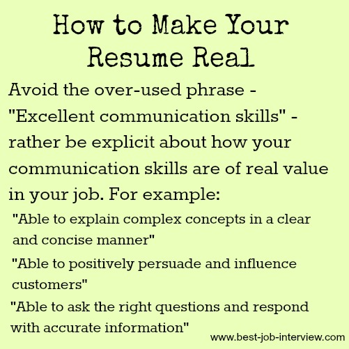 How To Write Your Human Voiced Resume  Resume Hot Words