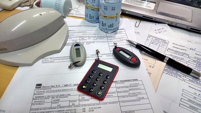 accounts clerk desk