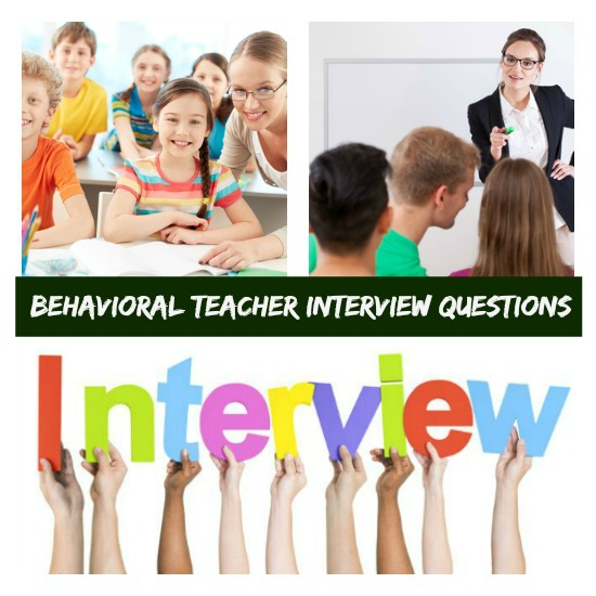 Competency Based Interview Questions For Teachers