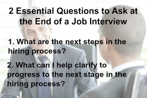 Closing an Interview