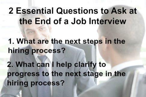 Closing an Interview