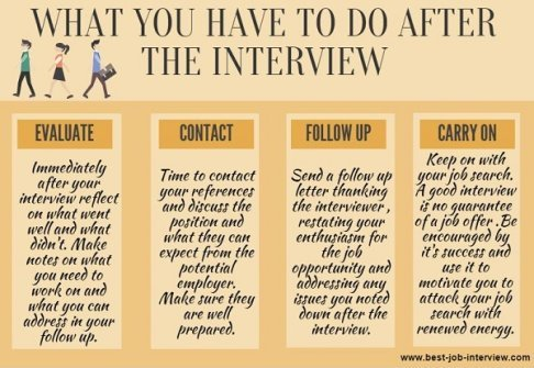 interview follow up tips