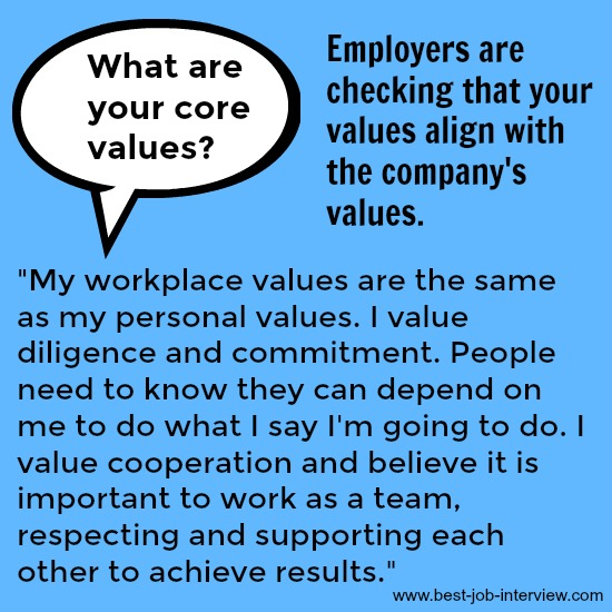 What are your core values