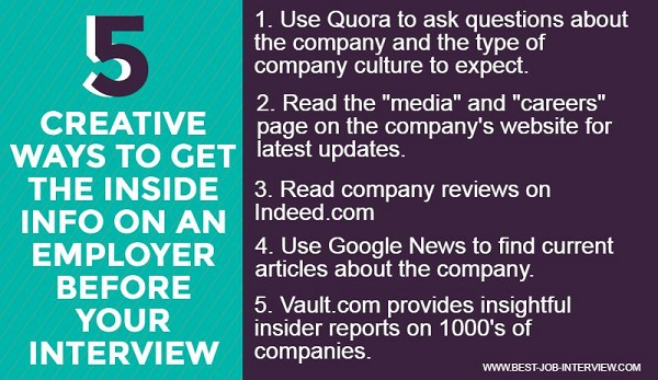 5 Resources for Company Research