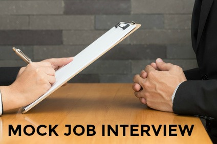 sample cover letter for mock interview