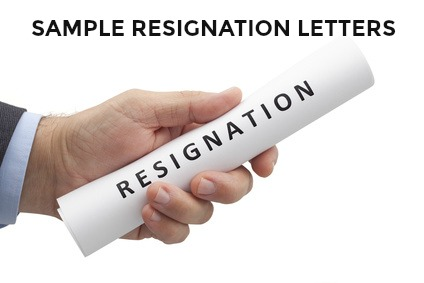 Simple Resign Letter Sample Free from www.best-job-interview.com