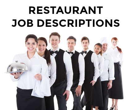 Restaurant Job Descriptions