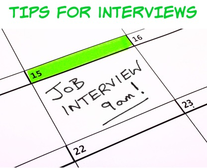tips for interviews
