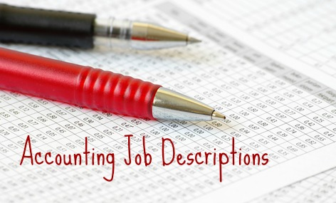 Sample Accounting Job Description