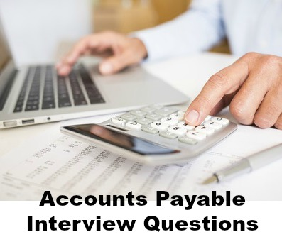 accounting job interview questions accounts payable and accounts receivable