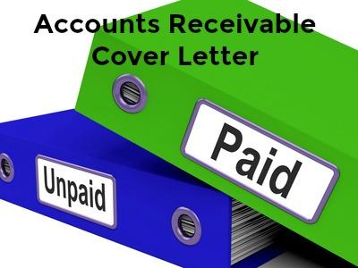sample accounts receivable cover letter