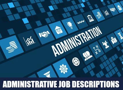 Sample Administrative Job Descriptions