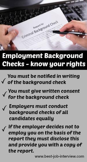 background check after job offer