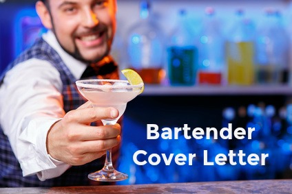 bartendercoverletter1 Sample Application Letter For on college scholarship, any position, teaching position, high school, for school board, for housekeeping,