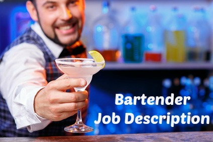 job description bartender