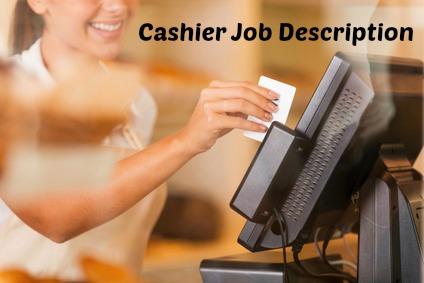Cashier swiping credit card at till