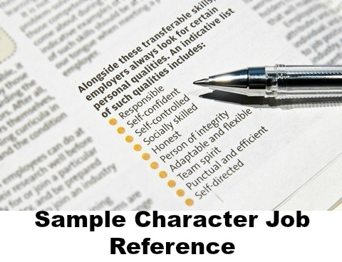 Letter Of Recommendation Character And Integrity from www.best-job-interview.com