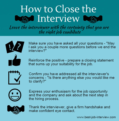 Successful Interview Closing Tips