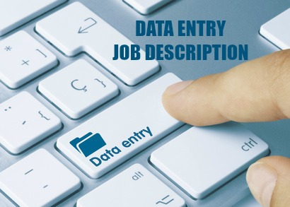 Data Entry Job Description