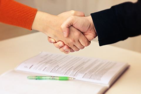Close the job interview