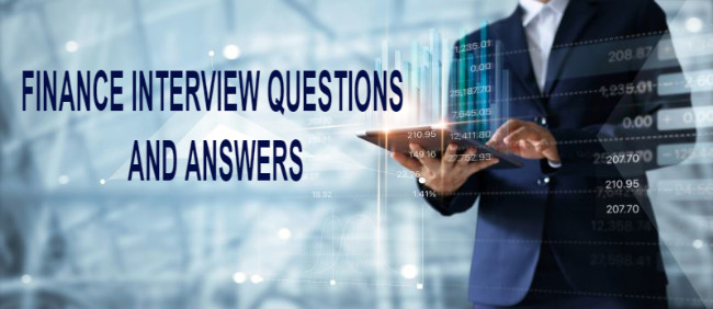 11 Essential Finance Interview Questions