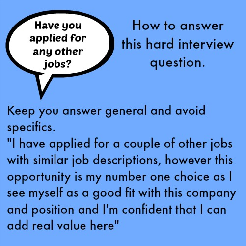 hard interview questions with good answers - How To Have A Good Interview Tips For A Good Interview