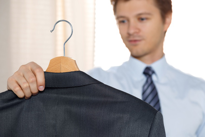 Selecting interview clothes