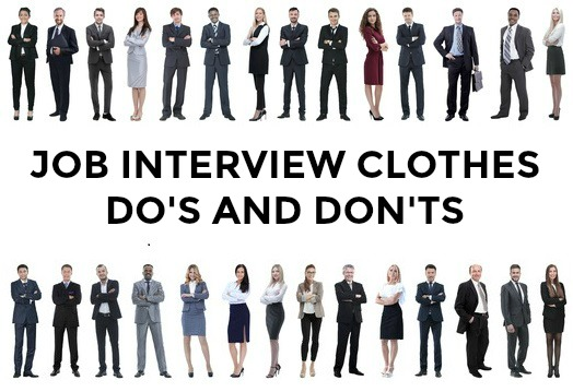 Job Interview Clothes Do S And Don Ts