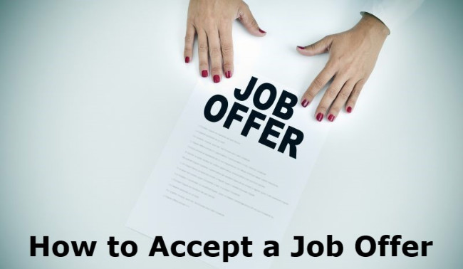 Accepting An Offer Letter from www.best-job-interview.com