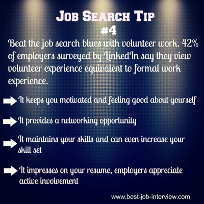 Job  Search Tip #4