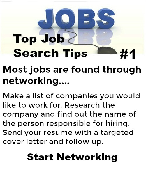 Friendly Find For Your Job Search: Quick Job Search Tips
