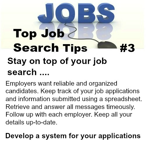 quick job search tips