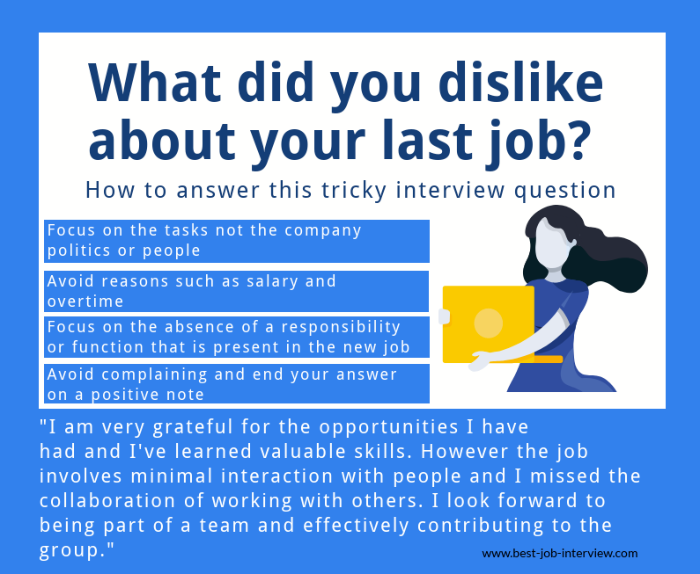 Typical Interview Questions About Your Previous Job
