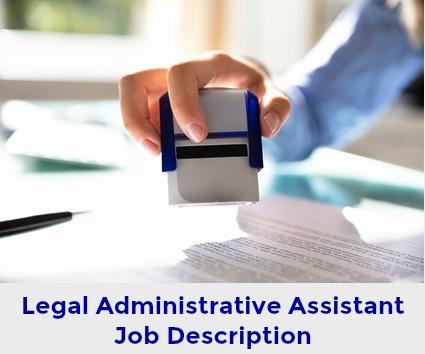 Job Description for Legal Administrative Assistant