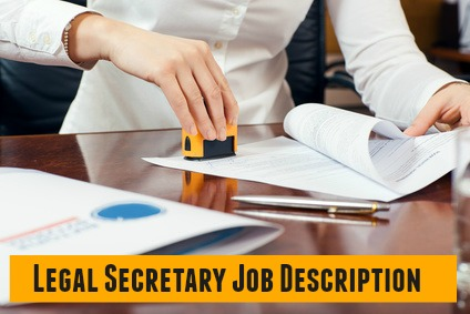 Legal Secretary Job Description