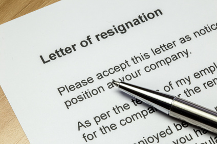 Letter of Resignation Template – Resignation Letter Difficult Decision