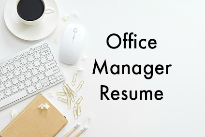 Best Job Interview  Office Manager Resume Sample