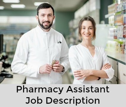 Pharmacist and pharmacy assistant in pharmacy
