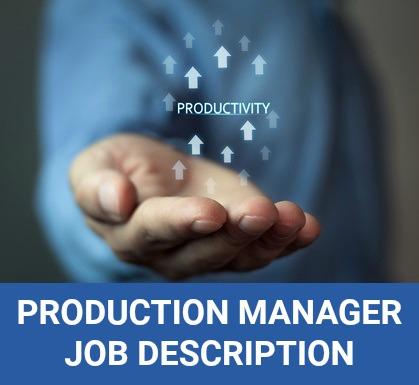 Production Manager Job Description