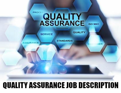 Quality Assurance Job Description - full QA job details