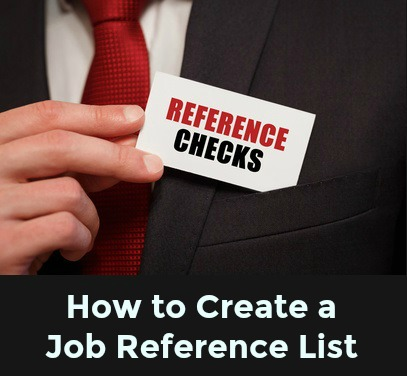 list of references for job interview