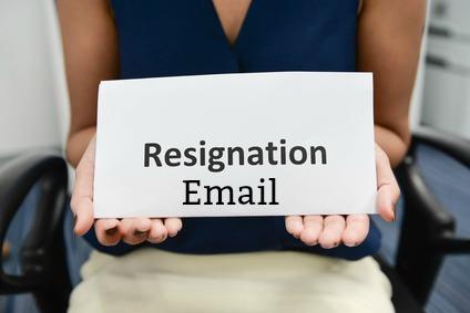 best sample resignation letter