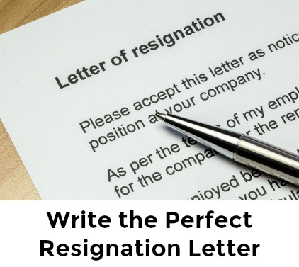 best sample resignation letter