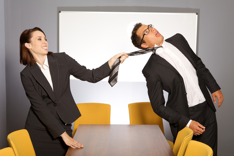 How do you handle conflict at work?